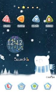 CUKI Theme Snowy Night