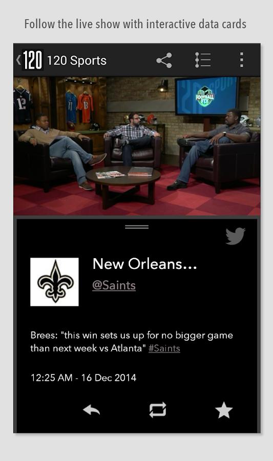 120 Sports- screenshot