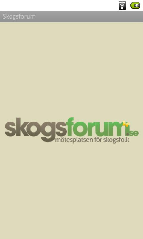 Skogsforum - screenshot