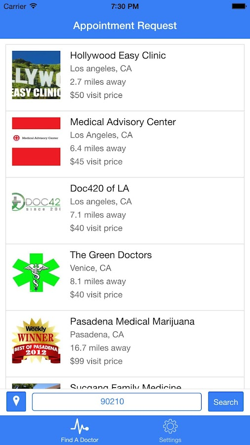 Marijuana Doctors- screenshot
