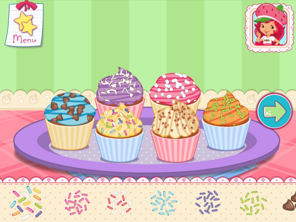 Strawberry Shortcake Baking Cake Games
