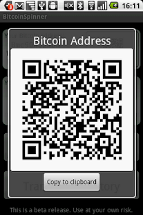 BitcoinSpinner - screenshot thumbnail