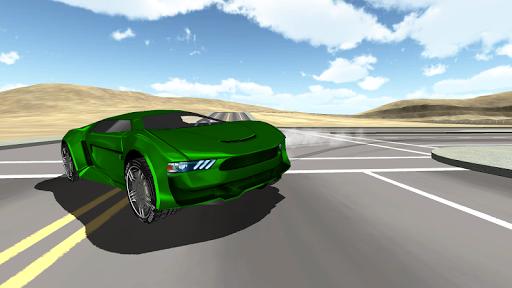 高速車の3D無料