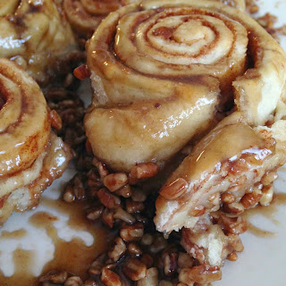 Brown Sugar Pecan Cinnamon Rolls