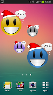 Smiley Battery Pro Widget- screenshot thumbnail