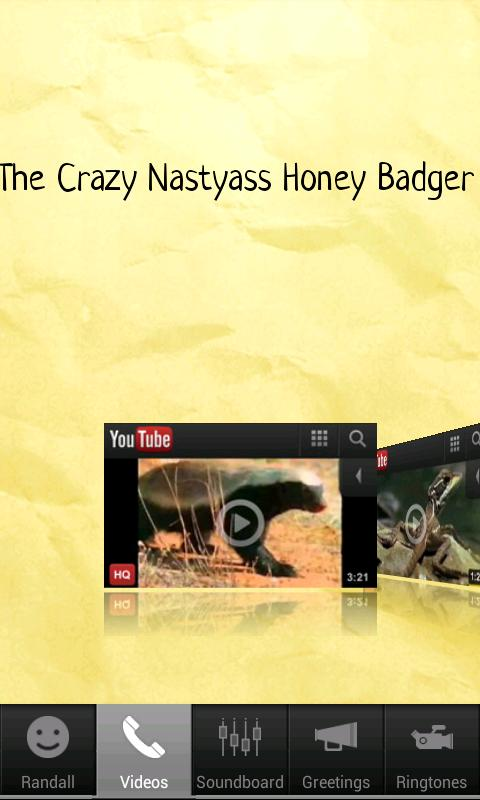 Free Honey Badger Official App - screenshot