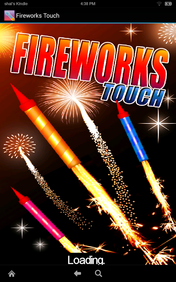 Fireworks Touch Free - screenshot