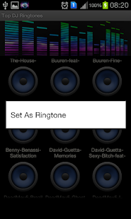 Latest DJ Ringtones (Tracks) - screenshot thumbnail