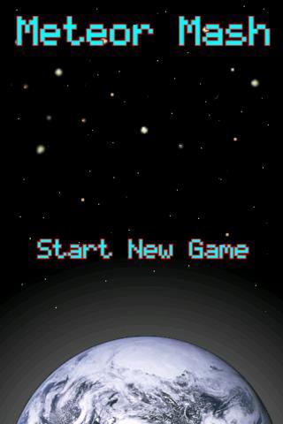 Meteor Mash Free - screenshot