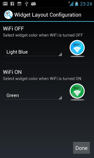 Wifi Hotkey and Widget