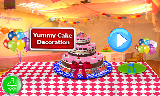 美味的蛋糕裝飾