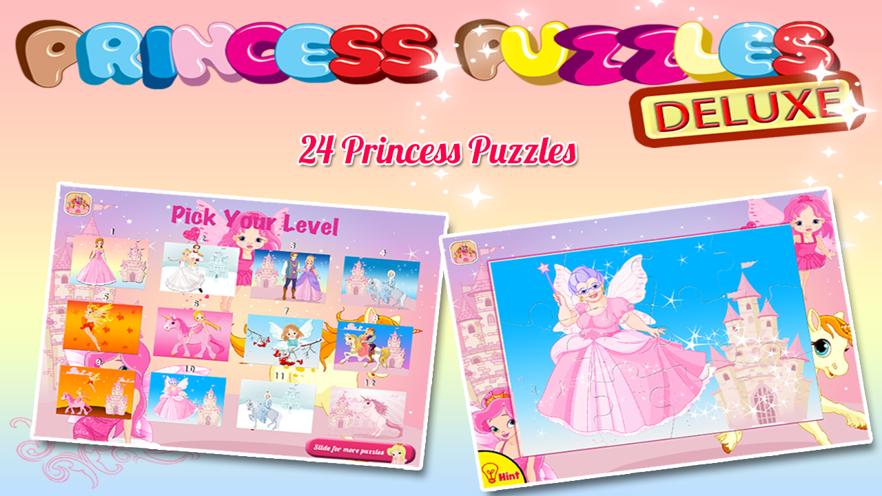Princess Puzzles Deluxe - screenshot