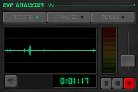 Ghost EVP Analyzer - screenshot thumbnail