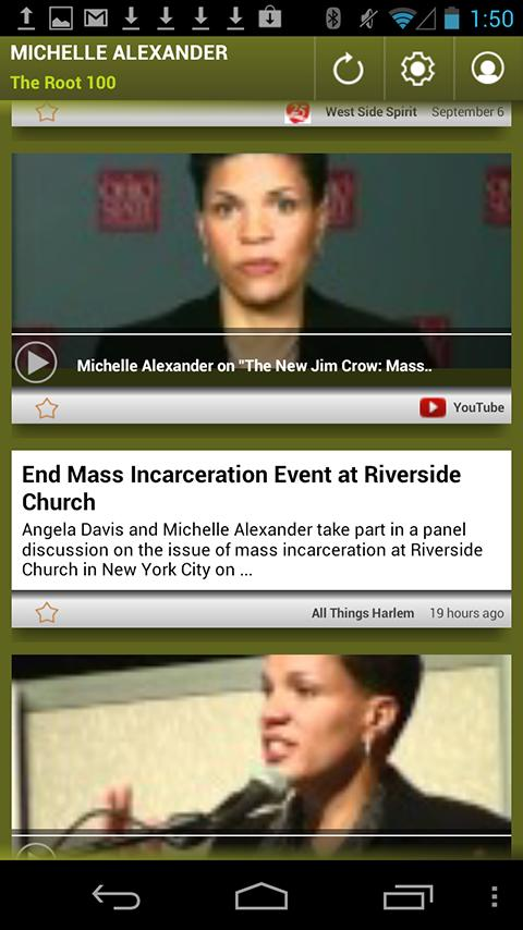 Michelle Alexander: The Root - screenshot