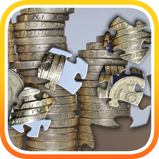 Coins Jigsaw LOGO-APP點子