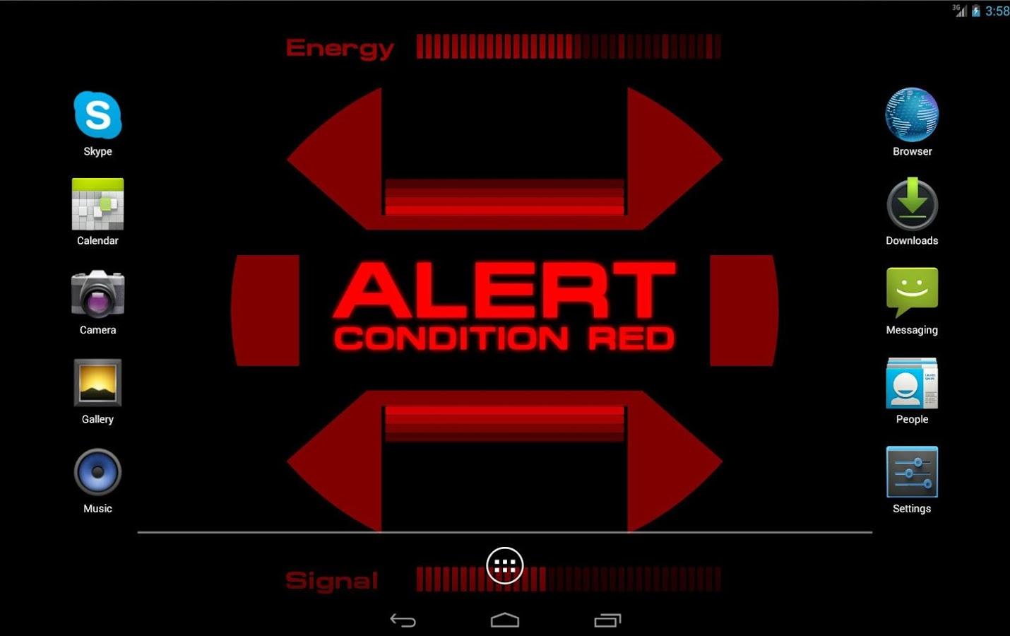 Red Alert (Star Trek) - screenshot