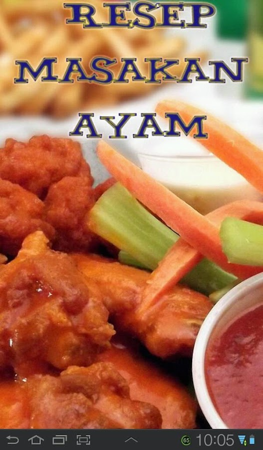 Resep Masakan Ayam - screenshot