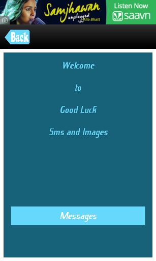 Good Luck SMS Messages