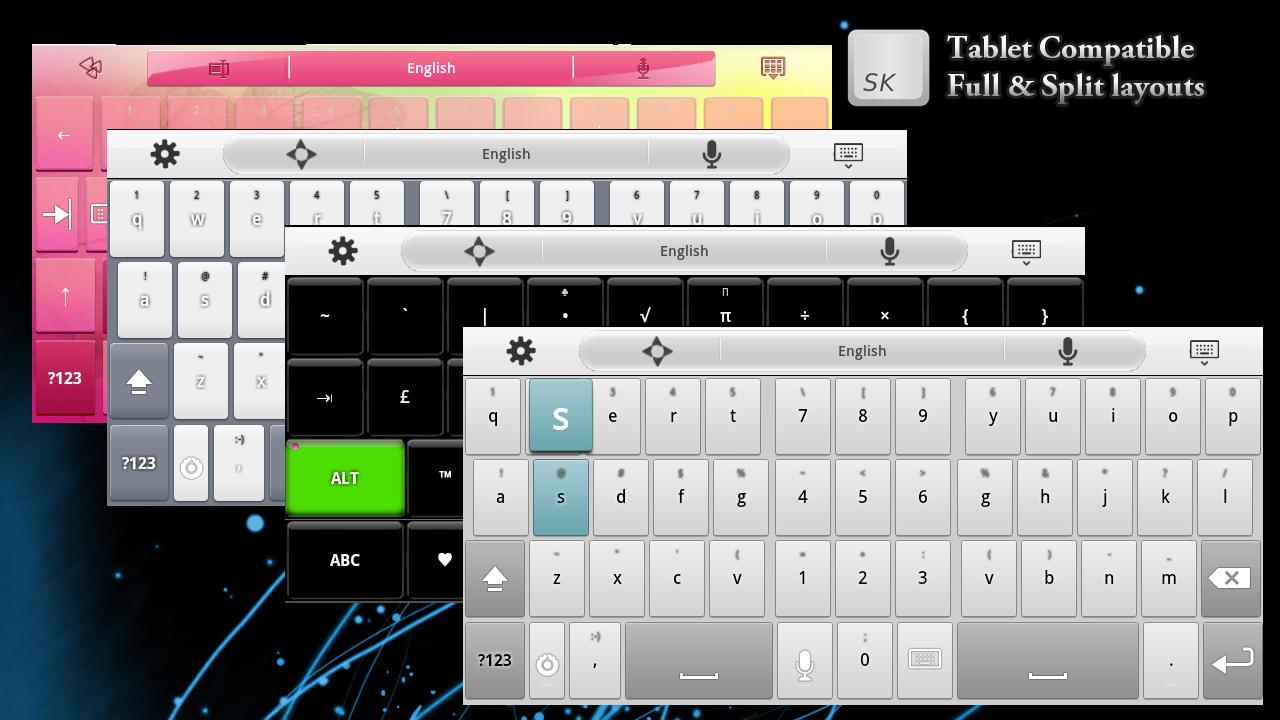 Super Keyboard - Free- screenshot