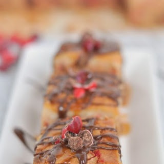 Candy Apple Cheesecake Cookie Bars