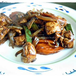 Stir-Fry Lemon Chicken.