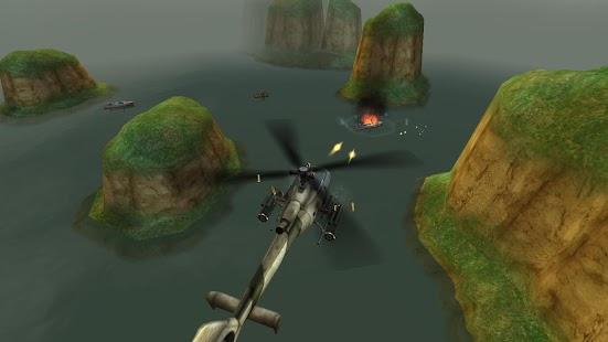 GUNSHIP BATTLE :直升機 3D Action