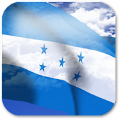 3D Honduras Flag
