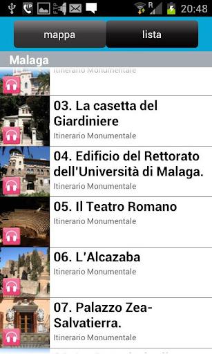 玩旅遊App Ufficiale Audio Tour di Malaga免費 APP試玩