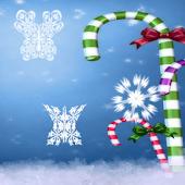Snowflake Butterflies