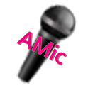 AMic (Android Virtual Mic) icon