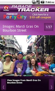 WDSU Parade Tracker- screenshot thumbnail