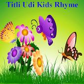 Titli Udi Kids Hindi Rhyme