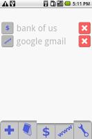 Screenshot of Safe Vault