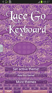 Lace GO Keyboard - screenshot thumbnail