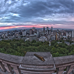 Montreal Sunrise by Faisal Abuhaimed - City,  Street & Park  Skylines ( Urban, City, Lifestyle )
