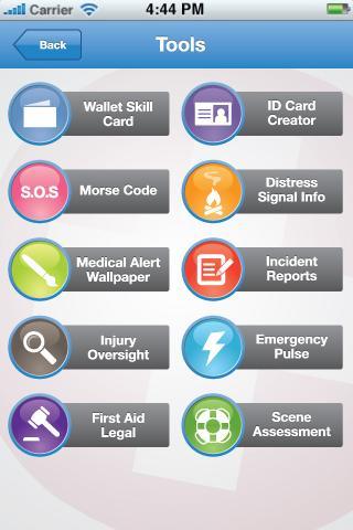 GotoAID First Aid- screenshot