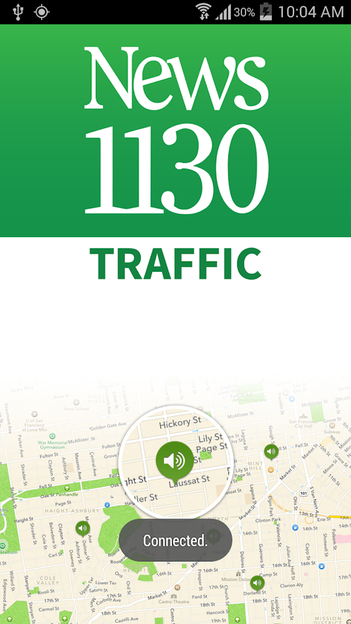 News1130 Vancouver Traffic - screenshot