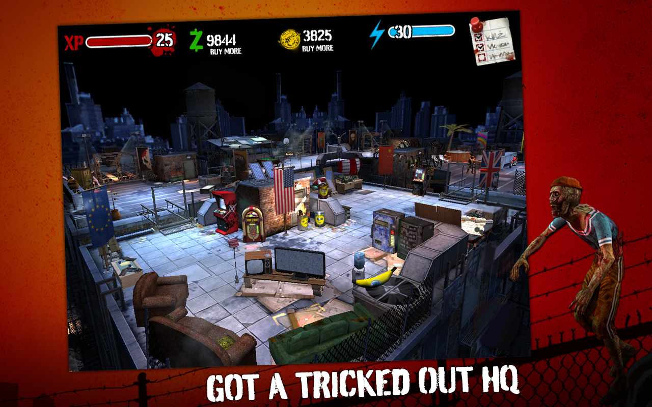Zombie HQ - screenshot