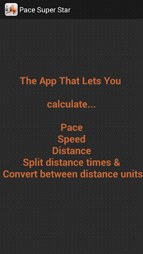 Pace Time Calculator