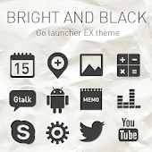 B.black GO Launcher EX Theme