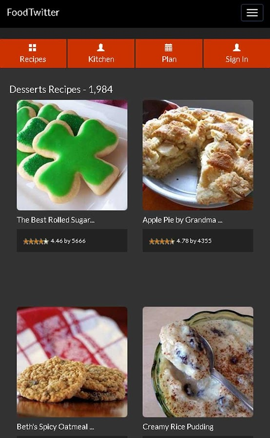 Cake Allrecipes Dessert Recipe - screenshot