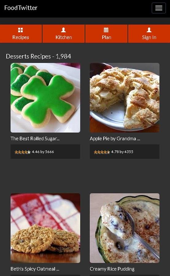 Cake Allrecipes Dessert Recipe - screenshot