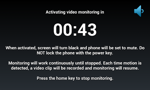 Motion Spy Video Recorder - screenshot thumbnail