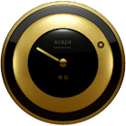 SANTIGOLD Clock Widget icon