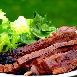 Quick-Marinated Flank Steak.