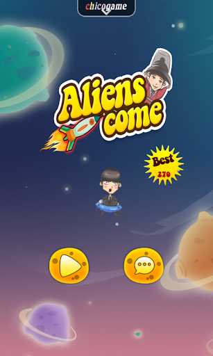 Aliens come-Man from the star