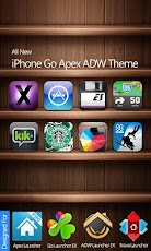 iPhone HD Go Apex ADW Theme - Android Mobile Analytics and App Store Data
