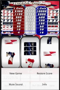 Sevens And Stripes Slots - Free to Play Demo Version