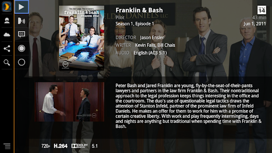 Plex for Google TV - screenshot thumbnail