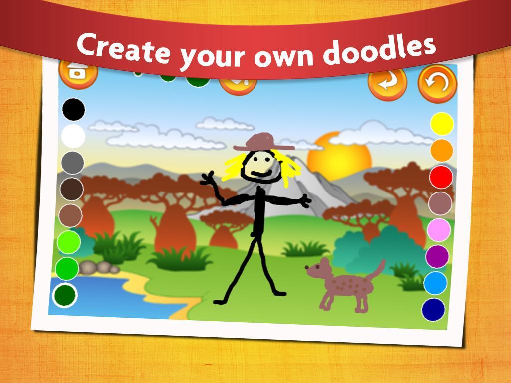 Ba ba back to school coloring sheets printable - Kids Dinosaur Coloring Pages Screenshot